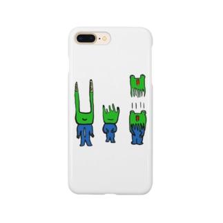 3匹のかえる Smartphone cases