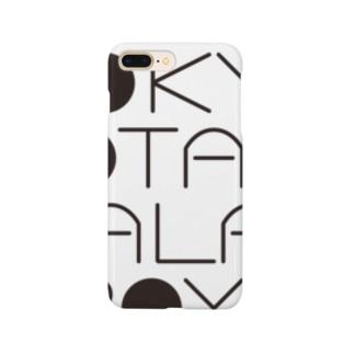 東京ポテトサラダボーイズ公式ネオクラシックロゴ スマートフォンケース