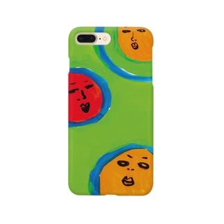 サンマン Smartphone cases