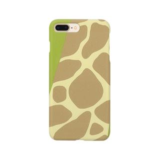 キリン柄 Smartphone cases