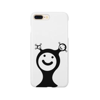 顔の顔 Smartphone cases
