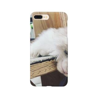 眠るネコちゃん Smartphone cases