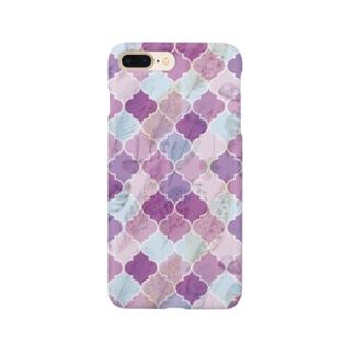 モロッカンパープル Smartphone cases
