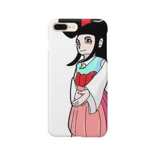 ヤカミちゃん Smartphone cases