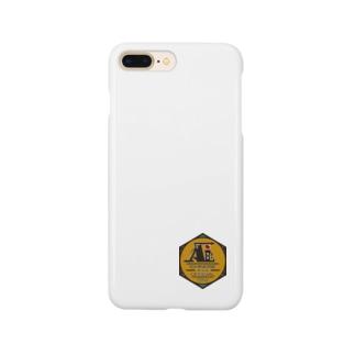 一ノ瀬彩:LOGO_勲章風【英語】 Smartphone cases