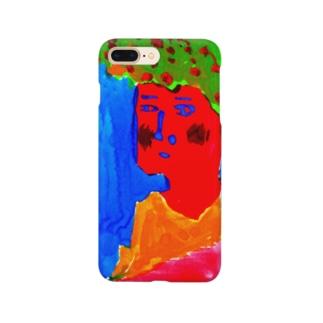 アフロ実 Smartphone cases