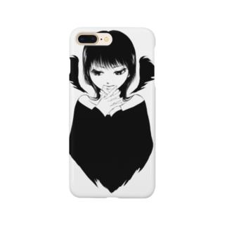 白黒天悪 Smartphone cases