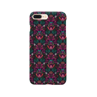 架空植物Ⅰ_ pink Smartphone cases