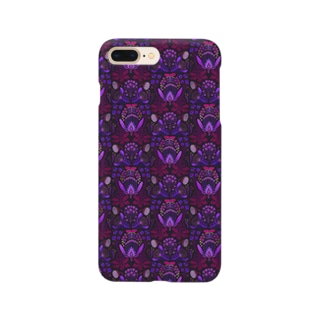 架空植物Ⅰ_ purple Smartphone cases
