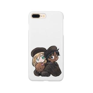 黒白冬服 Smartphone cases