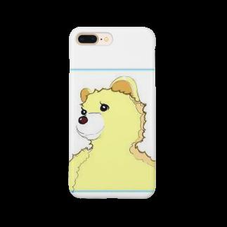 RSCスタジオSHOPのKUMAちゃん Smartphone cases