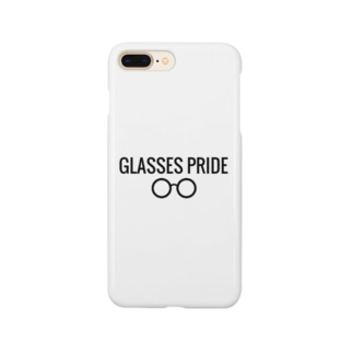 白GLASSES PRIDE Smartphone cases