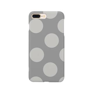 greige / beige dot Smartphone cases