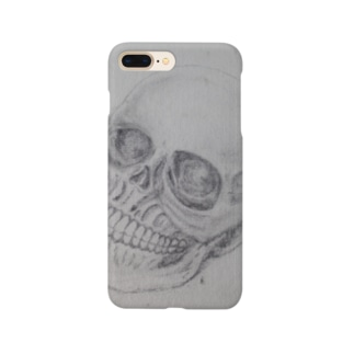 清々しい骸骨 Smartphone cases