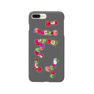 りんごスマートフォンケース Smartphone cases