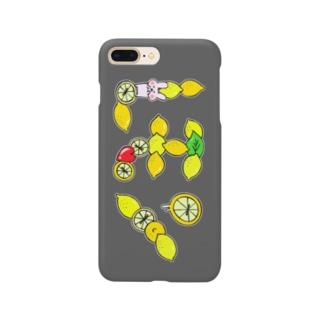 レモンスマートフォンケース Smartphone cases