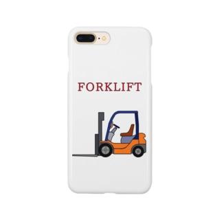 フォークリフト Smartphone cases