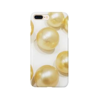 ゴールデンパール Smartphone cases