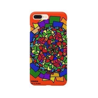 赤い花 YOUGA.001 Smartphone cases