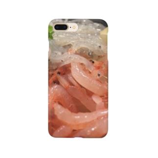 新鮮!静岡産桜エビ Smartphone cases