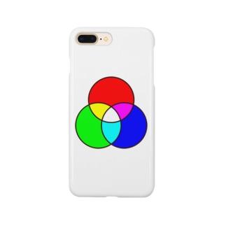 光の三原色 Smartphone cases