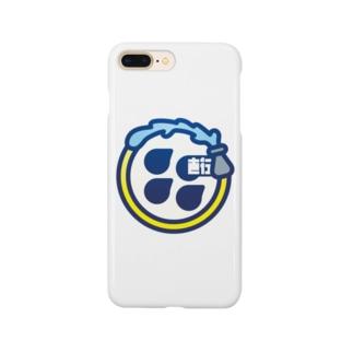 パ紋No.1232直行 Smartphone cases