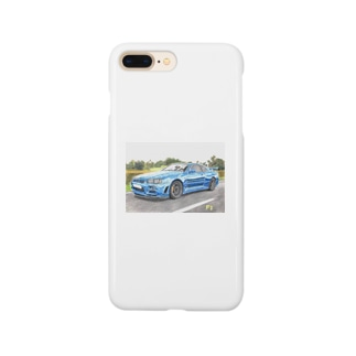 F‡cking GTR-34 Smartphone cases