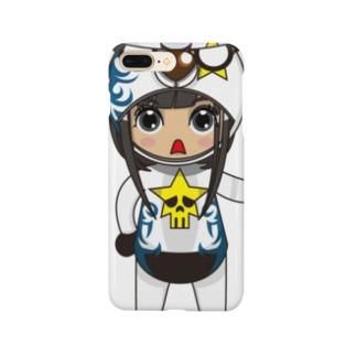ちびキャラ/FUNKYTYPE【一ノ瀬彩】 Smartphone cases