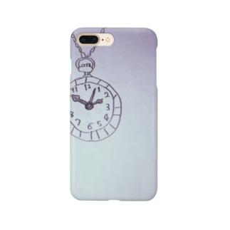 懐中時計をぶら下げて Smartphone cases