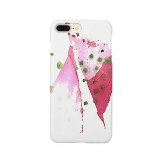 スイカピンク Smartphone cases
