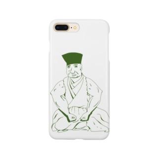 ムキムキ千利休 Smartphone cases