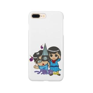 一ノ瀬彩&のせスタッフ_ロゴ付/Pro【ぜにおじちゃん】 Smartphone cases