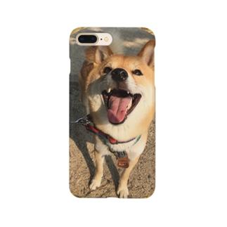 柴犬コタロー Smartphone cases