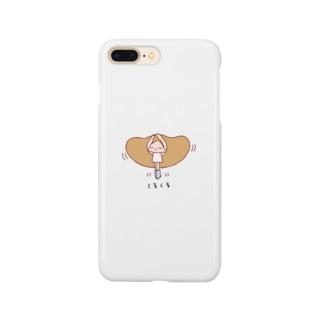 くるくる(もーふちゃん) Smartphone Case