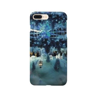 ブルークリスマス Smartphone cases