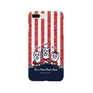 It'funfunfun【3】iPhone 7pluse用 スマートフォンケース
