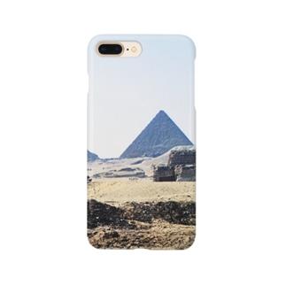 古代エジプト:砂漠に聳えるピラミッド Pyramid/Egypt Smartphone cases