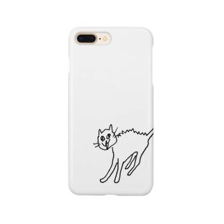 威嚇猫 Smartphone cases