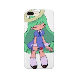 スケルトンガール Smartphone cases