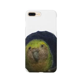 夜のカカポ Smartphone cases