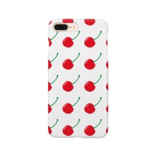 チェリー Smartphone cases
