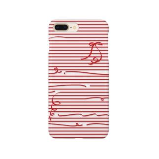 Red Stripes スマートフォンケース