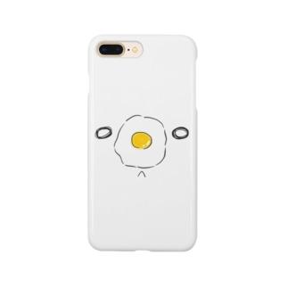 目玉焼きのくま Smartphone cases
