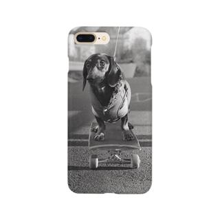 Skating Dog Smartphone cases