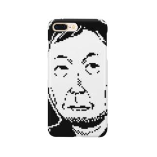 平たいおじさん Smartphone cases