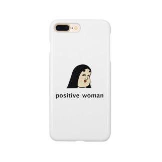 positive woman 式部 スマートフォンケース