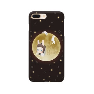 Moon House iPhoneケース Smartphone cases