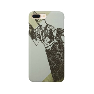 切り絵*操り三番叟 Smartphone cases