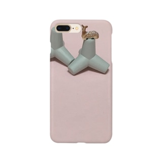 鹿と消波ブロック Smartphone cases