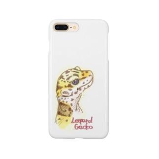 レオパードゲッコー Smartphone cases